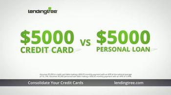LendingTree TV Spot, 'Personal Loans: Holiday Credit Card Debt' - Thumbnail 5