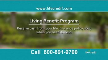 Life Credit Company Living Benefit Program TV Spot, 'Stop Worrying' - Thumbnail 2