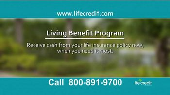 Life Credit Company Living Benefit Program TV Spot, 'Stop Worrying' - Thumbnail 3