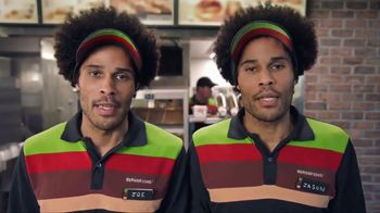 Burger King 2 for $6 Mix or Match TV Spot, 'Seeing Double' - 8426 commercial airings