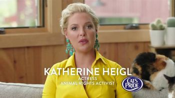 Cat's Pride TV Spot, 'Litter for Good: Help Millions' Feat. Katherine Heigl - 42 commercial airings