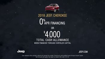 2018 Jeep Cherokee TV Spot, 'Warmest Greetings' Song by Imagine Dragons [T2] - Thumbnail 8