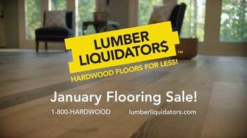 Lumber Liquidators January Flooring Sale TV Spot, 'Style, Beauty and Value' - Thumbnail 8