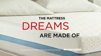 Mattress Firm Dream Bed Lux TV Spot, '$1,000 Less Than Leading Mattresses'