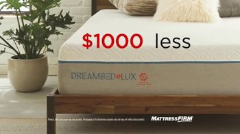 Mattress Firm Dream Bed Lux TV Spot, '$1,000 Less Than Leading Mattresses' - Thumbnail 3