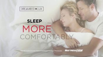 Mattress Firm Dream Bed Lux TV Spot, '$1,000 Less Than Leading Mattresses' - Thumbnail 5