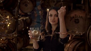 Jim Beam Vanilla TV Spot, 'A Look Inside' Featuring Mila Kunis - 1622 commercial airings