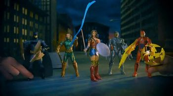 Justice League Mega Cannon Batmobile TV Spot, 'Justice Is Served'