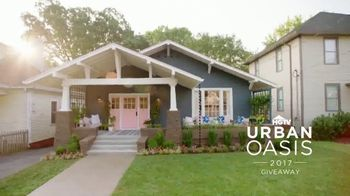 2017 HGTV Urban Oasis Giveaway TV Spot, 'Enter Daily' - 33 commercial airings