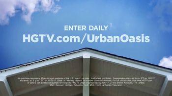 2017 HGTV Urban Oasis Giveaway TV Spot, 'Enter Daily' - Thumbnail 6