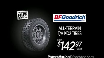 PowerNation Directory TV Spot, 'All-Terrain and Performance Tires'