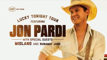 CMT On Tour TV Spot, \'Jon Pardi: Lucky Tonight Tour\'