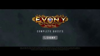 Evony: The King's Return TV Spot, 'The Hunt' Featuring Aaron Eckhart - Thumbnail 10