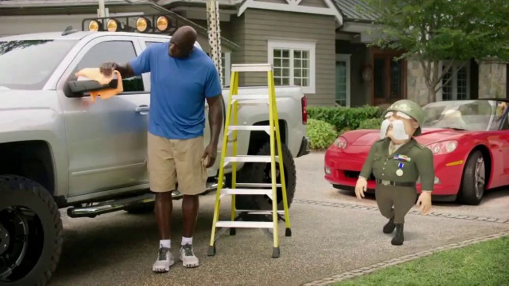 The General TV Commercial, 'Truck' Featuring Shaquille O'Neal