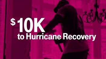 T-Mobile TV Spot, 'Home Runs for Hurricane Recovery' - 8 commercial airings