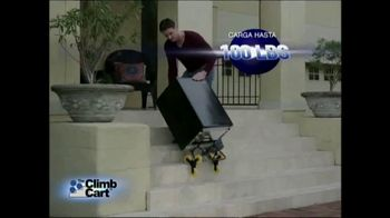 Climb Cart TV Spot, 'Carretilla innovadora plegable' [Spanish] - Thumbnail 3