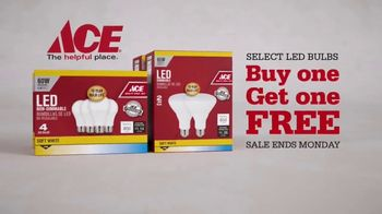 ACE Hardware LED Light Bulb Sale TV Spot, 'No Limit' - Thumbnail 4