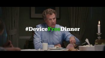 Common Sense Media TV Spot, 'Device-Free Dinner: Basket' Feat. Will Ferrell - Thumbnail 9