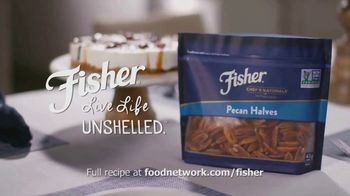 Fisher Pecan Halves TV Spot, 'Food Network: Pecan Turtle Ice Cream Cake' - Thumbnail 10
