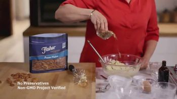 Fisher Pecan Halves TV Spot, 'Food Network: Pecan Turtle Ice Cream Cake' - Thumbnail 4