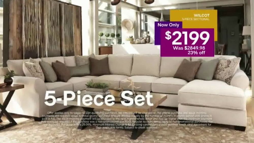Ashley HomeStore Get More Savings Event TV Commercial, 'Five-Piece on home and more, furniture and more, shoes and more,