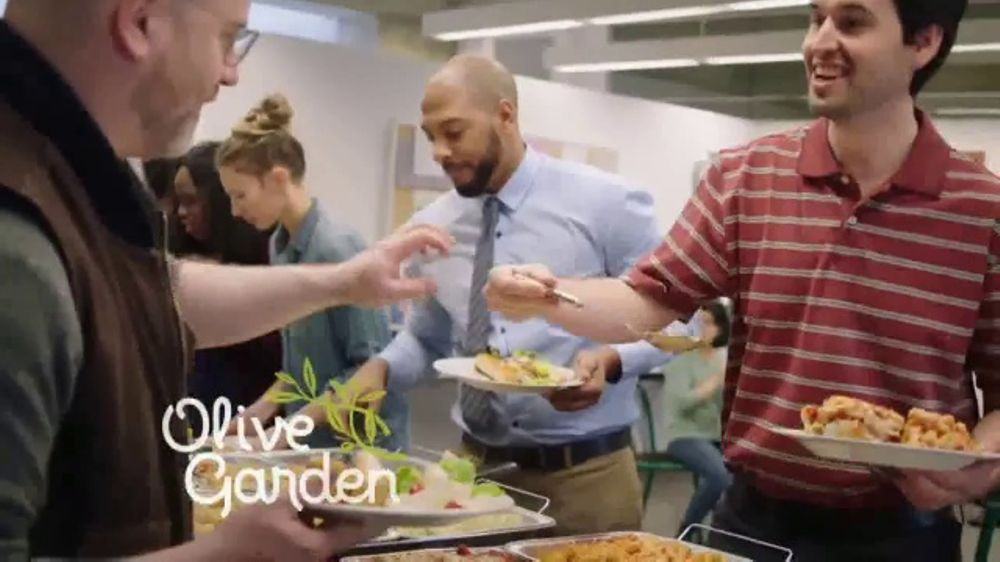 olive garden catering delivery tv commercial employee of the month ispottv - Olive Garden Catering