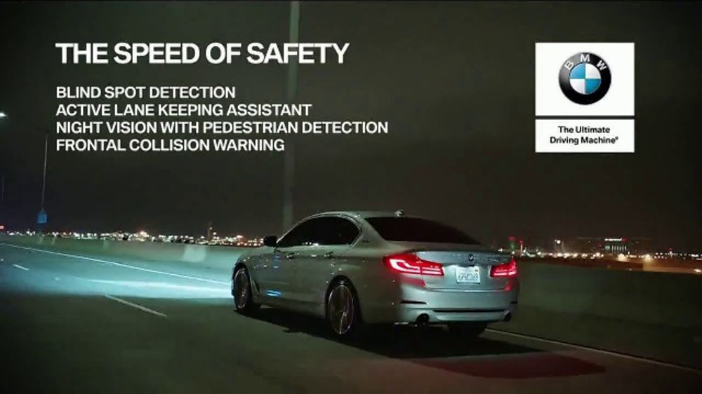 2018 bmw x5 tv commercial 39 the speed of safety 39 t1. Black Bedroom Furniture Sets. Home Design Ideas