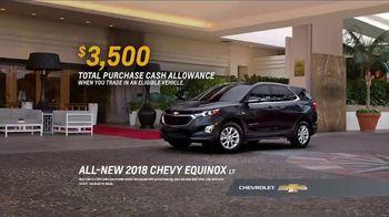 2018 Chevrolet Equinox LT TV Spot, 'Valet' - Thumbnail 10