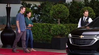 2018 Chevrolet Equinox LT TV Spot, 'Valet' - Thumbnail 3