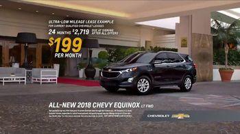 2018 Chevrolet Equinox LT TV Spot, 'Valet' - Thumbnail 9