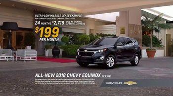 2018 Chevrolet Equinox LT TV Spot, 'Valet' [T2]