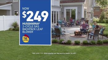 Lowe's TV Spot, 'Backyard Moment: Leaf Blower' - Thumbnail 9