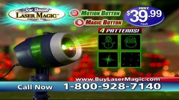 Star Shower Laser Magic TV Spot, 'Magical Moving Images' - Thumbnail 7