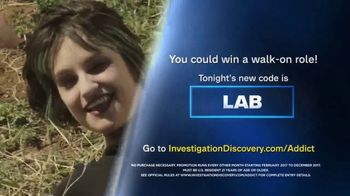 Investigation Discovery Addict of the Month Sweepstakes TV Spot, 'Win Big' - Thumbnail 6