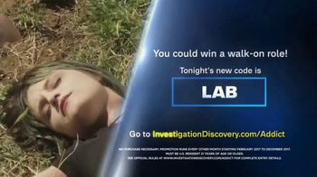 Investigation Discovery Addict of the Month Sweepstakes TV Spot, 'Win Big' - Thumbnail 4
