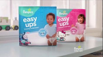 Pampers Easy Ups TV Spot, 'Potty Training Underwear for Toddlers' - Thumbnail 6