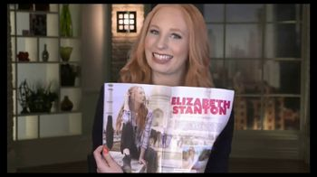 Popstar! Magazine TV Spot, 'Better Than Ever' Featuring Elizabeth Stanton
