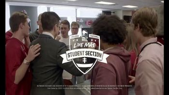 Taco Bell Live Más Spirit Contest TV Spot, 'Student Section' Ft. Rece Davis - Thumbnail 9