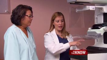Healthy Women TV Spot, 'In the Know: Genius 3D Exam' Feat. Nancy Brinker