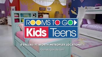 Rooms to Go Kids TV Spot, 'My Stuff' - Thumbnail 10