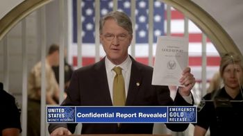 U.S. Money Reserve TV Spot, \'Classified US Gold Report\'