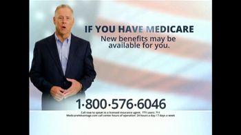 MedicareAdvantage.com TV Spot, 'The Benefits You Deserve'