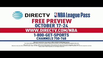DIRECTV TV NBA League Pass TV Spot, 'Free Preview' - Thumbnail 6