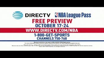 DIRECTV TV NBA League Pass TV Spot, 'Free Preview' - Thumbnail 5