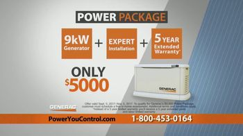 Generac Power Package TV Spot, 'Power You Control' - Thumbnail 10