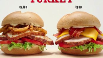 Arby's Deep Fried Turkey TV Spot, 'Two Solid Options' - Thumbnail 4