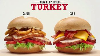 Arby's Deep Fried Turkey TV Spot, 'Two Solid Options' - Thumbnail 6