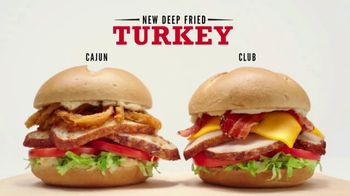 Arby's Deep Fried Turkey TV Spot, 'Two Solid Options' - 2800 commercial airings
