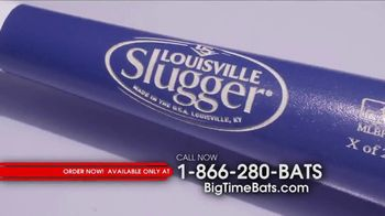 Big Time Bats TV Spot, 'Dodgers 2017 NL Champs Two Tone Bat' - Thumbnail 1
