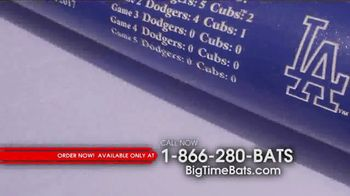 Big Time Bats TV Spot, 'Dodgers 2017 NL Champs Two Tone Bat' - Thumbnail 3
